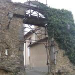 Porta Fiorentina, Malmantile. Author and Copyright Marco Ramerini