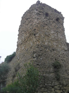 Torre angolare, Malmantile. Author and Copyright Marco Ramerini