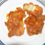 Baccalà in Umido con Patate. Author and Copyright Laura Ramerini