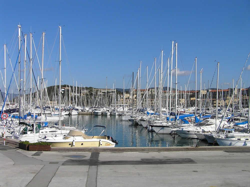 Boats in the port of Punta Ala, Castiglione della Pescaia .. Author and Copyright Marco Ramerini