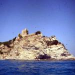 Castello delle Rocchette visto dal mare, Castiglione della Pescaia. Author and Copyright Marco Ramerini
