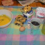 Gli ingredienti. Tiramisù. Author and Copyright Laura Ramerini