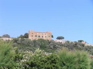 Il Castello di Castiglione della Pescaia. Author and Copyright Marco Ramerini