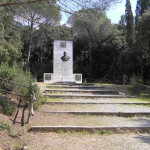 Il Monumento a Giuseppe Garibaldi, Cala Martina, Scarlino, Grosseto. Author and Copyright Marco Ramerini