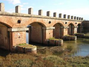 Il ponte della Casa Rossa, Castiglione della Pescaia. Author and Copyright Marco Ramerini