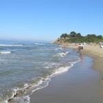 La spiaggia di Castiglione della Pescaia verso Capezzolo. Author and Copyright Marco Ramerini