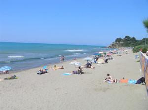 La spiaggia di Castiglione della Pescaia. Author and Copyright Marco Ramerini