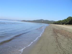 La spiaggia di Punta Ala, Castiglione della Pescaia. Author and Copyright Marco Ramerini