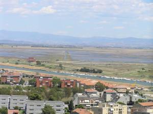 Panorama sulla Diaccia Botrona, Castiglione della Pescaia. Author and Copyright Marco Ramerini