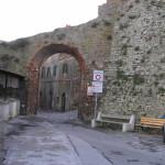 Porta di San Giovanni Battista. Castiglione della Pescaia. Author and Copyright Marco Ramerini