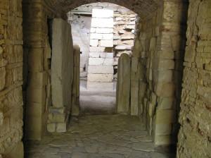 Tomba etrusca della Pietrera, Vetulonia. Author and Copyright Marco Ramerini