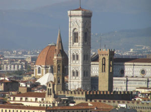 Campanile di Giotto, Firenze. Author and Copyright Marco Ramerini