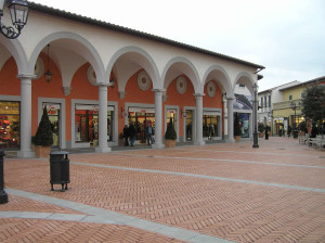 Barberino Designer Outlet, Barberino del Mugello, Firenze.