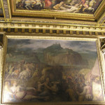 Battaglia di San Leo, Sala di Leone X, Palazzo Vecchio, Firenze. Italia. Author and Copyright Marco Ramerini