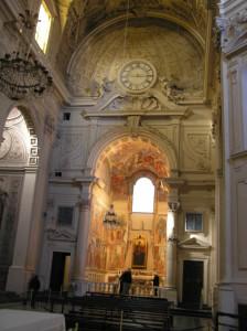 Chapelle Brancacci, l'église de Santa Maria del Carmine, Florence