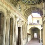Cappella de'Pazzi, Basílica de Santa Croce. Autor y Copyright Marco Ramerini.,