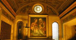 Cappella dei Priori, Palazzo Vecchio, Firenze, Italia. Author and Copyright Marco Ramerini