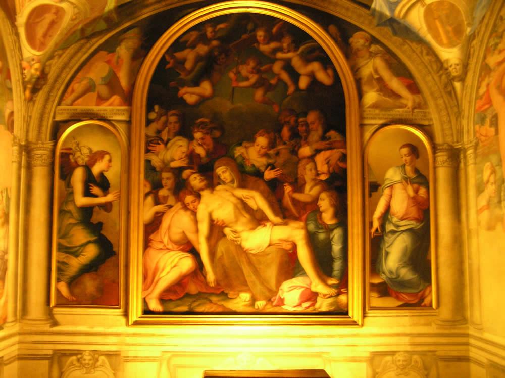 Cappella di Eleonora, Quartiere di Eleonora, Palazzo Vecchio, Firenze, Italia. Author and Copyright Marco Ramerini
