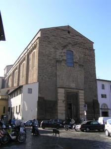 Facciata, Chiesa di Santa Maria del Carmine, Firenze. Author and Copyright Marco Ramerini
