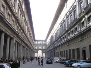 Galleria degli Uffizi, Firenze. Author and Copyright Marco Ramerini.