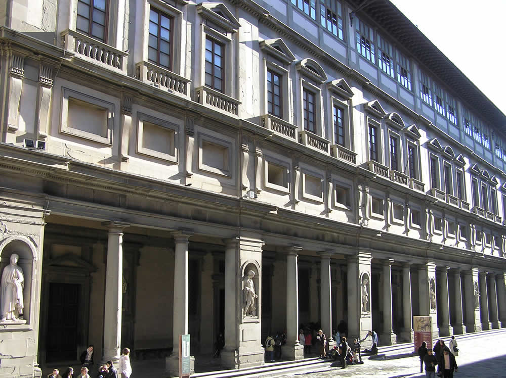 Galerie des Offices, Florence. Author and Copyright Marco Ramerini,