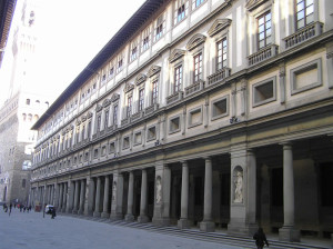 Galleria degli Uffizi, Firenze. Author and Copyright Marco Ramerini