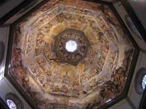 Gli affreschi della Cupola del Duomo, Firenze, Italia. Author and Copyright Marco Ramerini