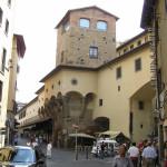 Il Corridoio Vasariano sul Ponte Vecchio, Firenze, Italia. Author and Copyright Marco Ramerini