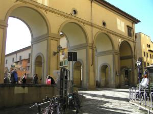 Il Corridoio Vasariano vicino al Ponte Vecchio, Firenze, Italia. Author and Copyright Marco Ramerini