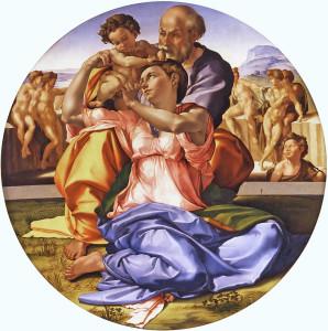 Il Tondo Doni di Michelangelo, Galleria degli Uffizi, Firenze