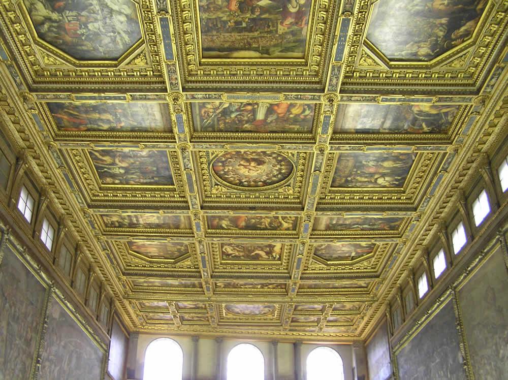 Sala Dei 500 Firenze.Salone Dei Cinquecento In Palazzo Vecchio Florence