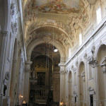 Interno, Chiesa di Santa Maria del Carmine, Firenze. Author and Copyright Marco Ramerini