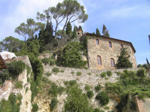 La Rocca, Cetona, Siena. Author and Copyright Marco Ramerini