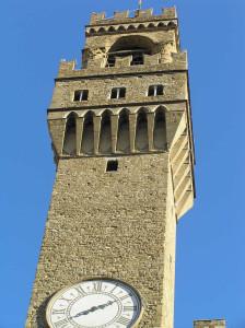 La Torre di Arnolfo, Palazzo Vecchio, Firenze, Italia. Author and Copyright Marco Ramerini