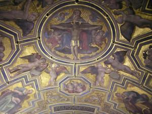 La Trinità, Cappella dei Priori, Palazzo Vecchio, Firenze, Italia. Author and Copyright Marco Ramerini