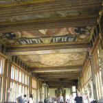 El interior de la Galería Uffizi, Florencia. Autor y Copyright Marco Ramerini