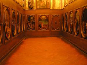 Lo Studiolo di Francesco I, Palazzo Vecchio, Firenze, Italia. Author and Copyright Marco Ramerini