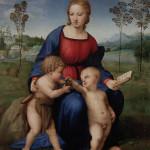Madonna con el jilguero, Raphael, Galería Uffizi, Florencia