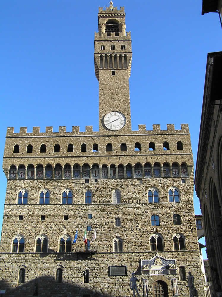 Palazzo Vecchio, Florence. Author and Copyright Marco Ramerini