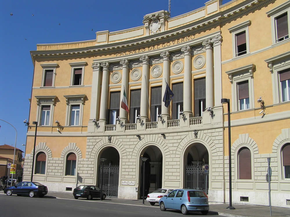 Palazzo del Governo, Grosseto. Author and Copyright Marco Ramerini