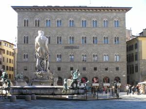 Palazzo delle Assicurazioni Generali, Piazza della Signoria, Firenze. Author and Copyright Marco Ramerini