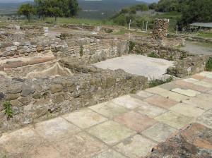 Parte della Domus dei Mosaici, Roselle, Grosseto. Author and Copyright Marco Ramerini