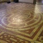 Pavimento, Sala di Opi, Quartiere degli Elementi, Palazzo Vecchio, Firenze, Italia. Author and Copyright Marco Ramerini