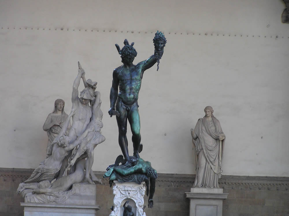 Statue Of Perseus By Benvenuto Cellini One Of The Most