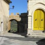Porta di San Martino, Magliano in Toscana, Grosseto. Author and Copyright Marco Ramerini