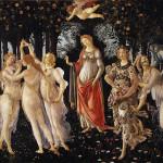Primavera, Sandro Botticelli, Galería Uffizi, Florencia