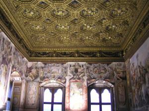 Sala dell'Udienza, Palazzo Vecchio, Firenze. Author and Copyright Marco Ramerini