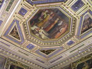 Sala di Gualdrada, Quartiere di Eleonora, Palazzo Vecchio, Firenze, Italia. Author and Copyright Marco Ramerini
