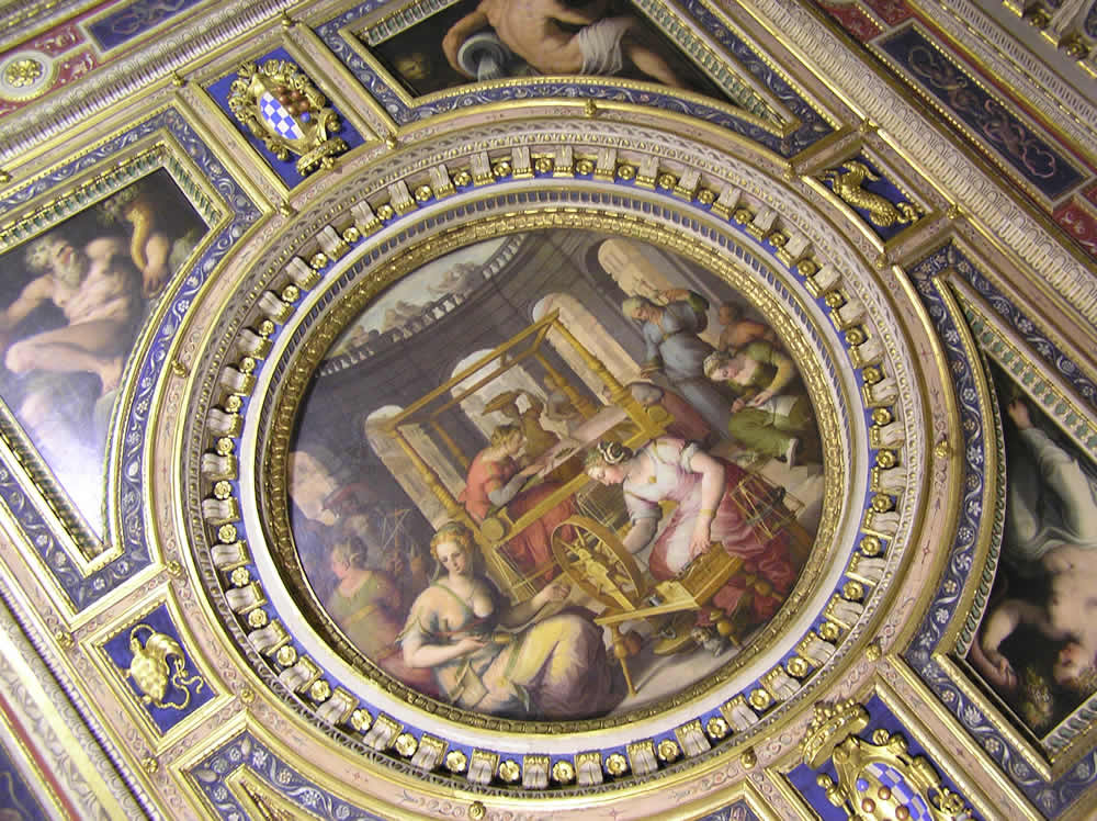 Quartiere Di Eleonora In Palazzo Vecchio Firenze Borghi