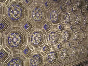Soffitto, Sala dell'Udienza, Palazzo Vecchio, Firenze. Author and Copyright Marco Ramerini